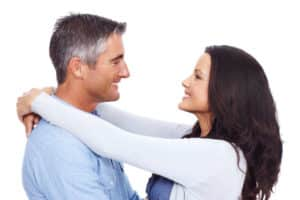 Closeup of an affectionate couple gazing into each others eyes - Couples Counseling